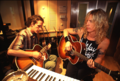 Duff and Izzy - guns-n-roses photo