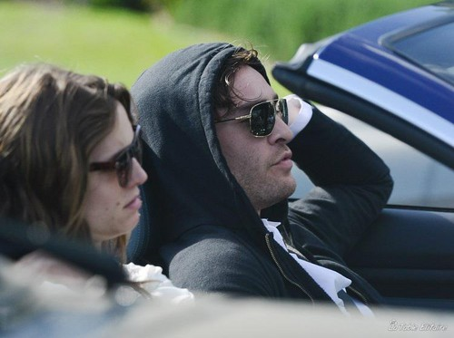 ED WESTWICK DRIVING WITH A MYSTERIOUS GIRL