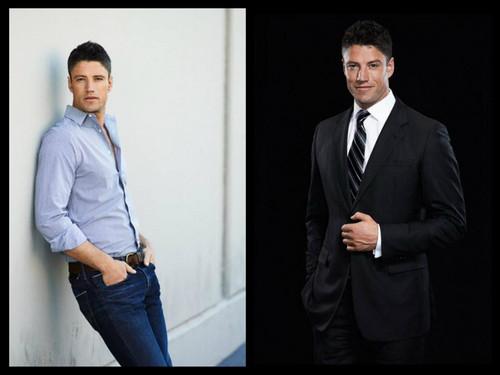 EJ DiMera,jeans или suit?