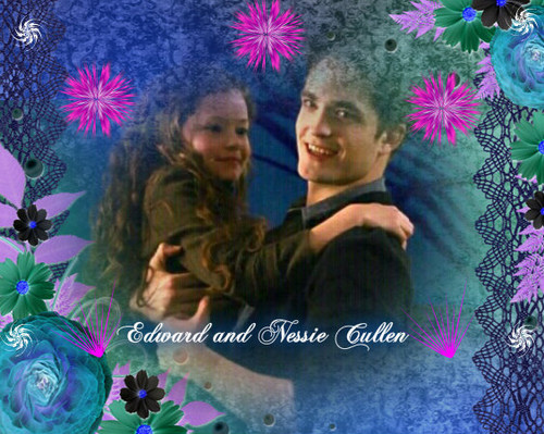 Edward and Nessie Cullen