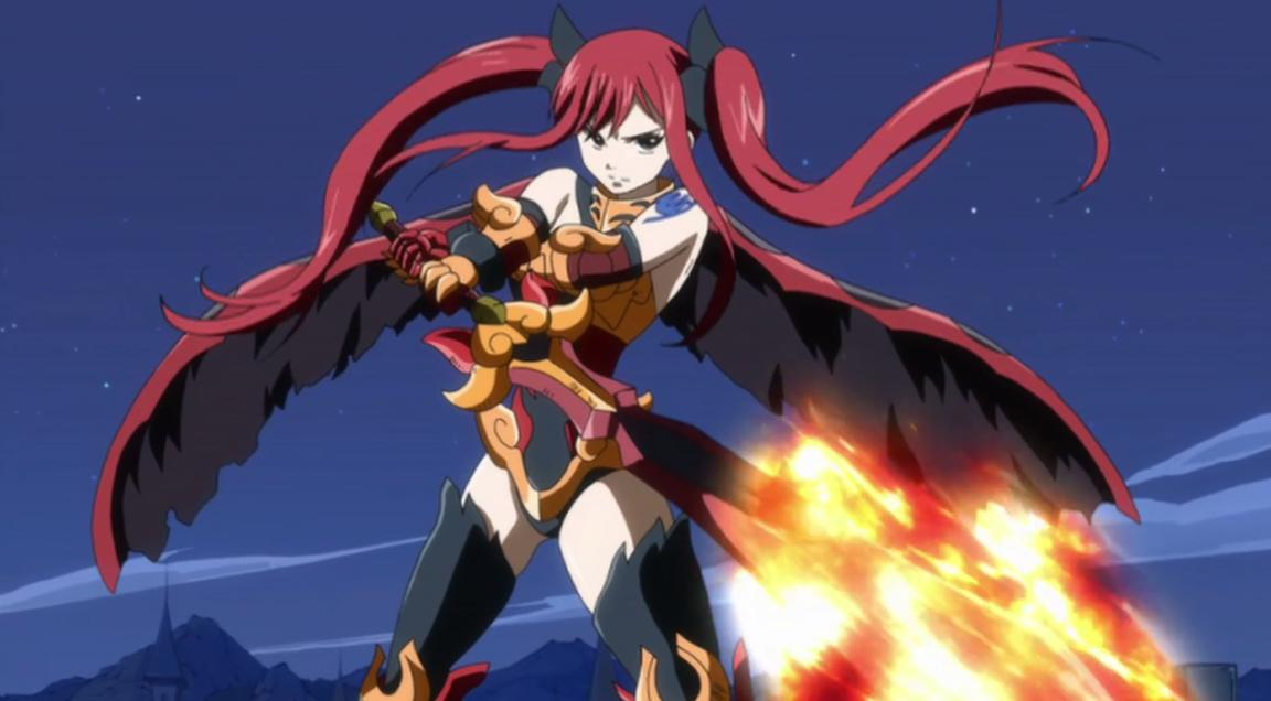 Erza Flame Empress Armor - Anime Photo (34119159) - Fanpop