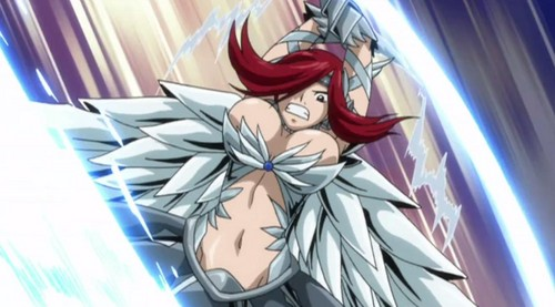 Fairy Tail Обои containing Аниме titled Erza Heaven Wheel Armor