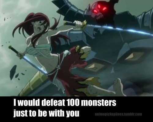 Fairy Tail Pickup Line