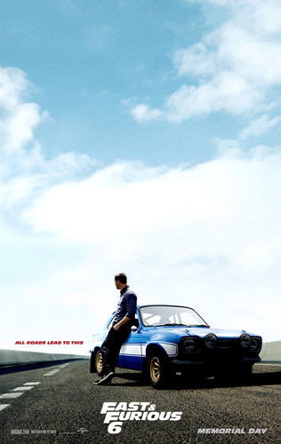 Fast and Furious 6 (2013) Poster - HQ - Paul Walker