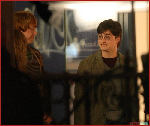 Filming Harry Potter