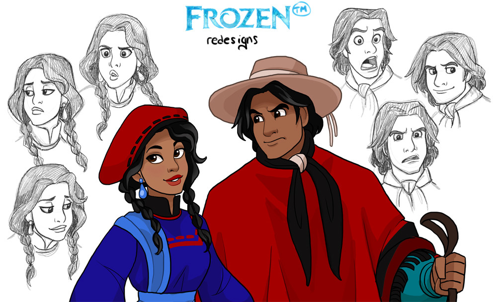 Disney Princess Frozen goes Hispanic!