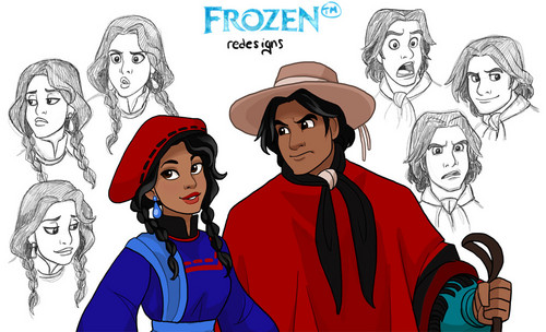 La Reine des Neiges goes Hispanic!