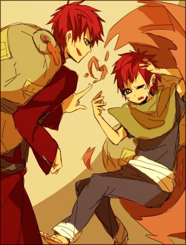Gaara of Suna wolpeyper containing anime titled Gaara