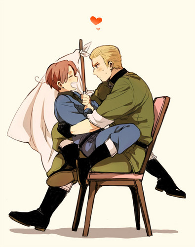 Hetalia-Gerita wallpaper entitled Gerita! :D