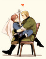 Gerita! :D - hetalia-gerita photo