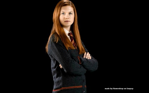 Гарри Поттер Обои probably with a well dressed person entitled Ginny Weasley Обои