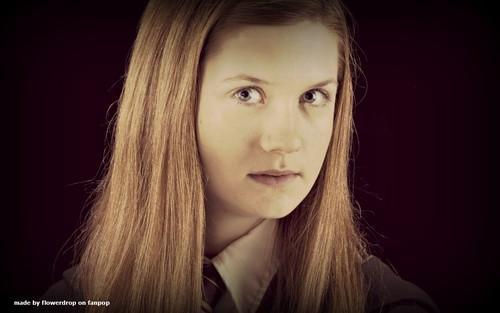 Ginny Weasley fondo de pantalla