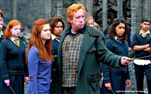 Ginny Weasley karatasi la kupamba ukuta