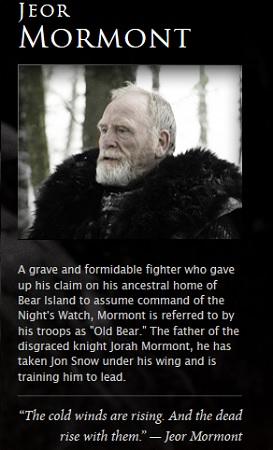 Jeor Mormont Game Of Thrones Photo 34123424 Fanpop