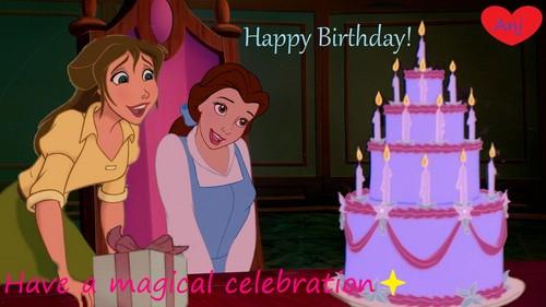 Happy Birthday Anj! ಇ