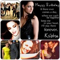 Happy Birthday,Kristen mashups - kristen-stewart fan art