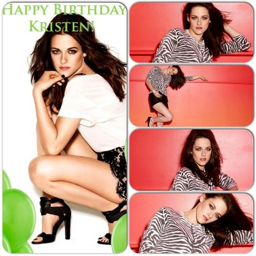 Happy Birthday,Kristen mashups