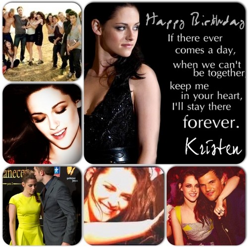 Happy Birthday Kristen mashups