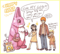 Happy Easter - ichigo-and-rukia-sun-and-moon fan art