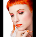 Hayley for MAC cosmetics - paramore photo