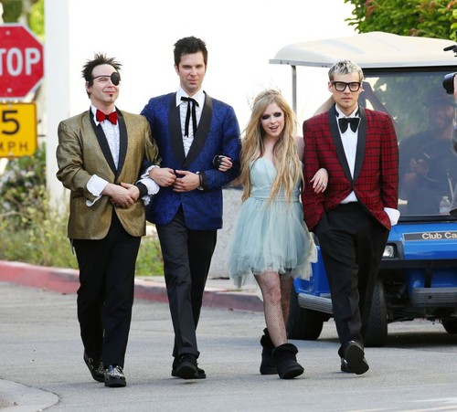 Here's To Never Growing Up Video Shoot