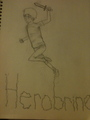 Herobrine! - herobrine fan art