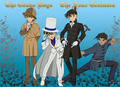 Holmes, The Phantom Thief, The British Young Man and The Chinese Fighter - detective-conan photo