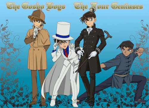 Holmes, The Phantom Thief, The British Young Man and The Chinese Fighter