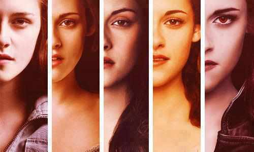 Human Bella to Vampire Bella....