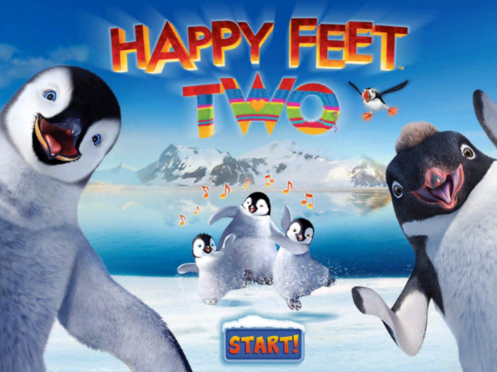 happy feet 2 images happy feet two game hd wallpaper and background