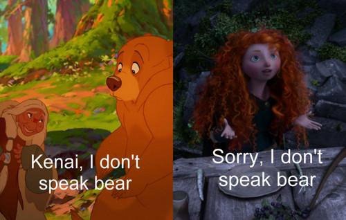 I don't speak chịu, gấu
