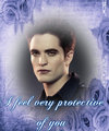 I feel very protective of you - twilight-series fan art