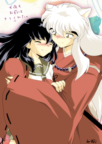 INUYASHAN AND KAGOME