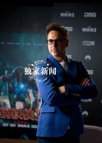 Iron Man 3, Beijing press junket
