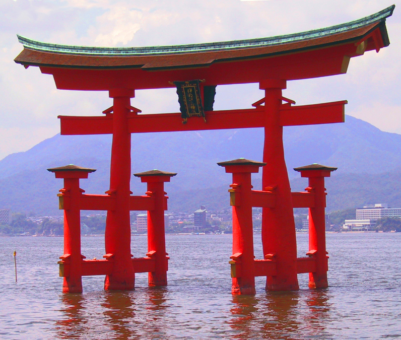 Japan Images Itsukushima Torii Hd Wallpaper And Background Photos