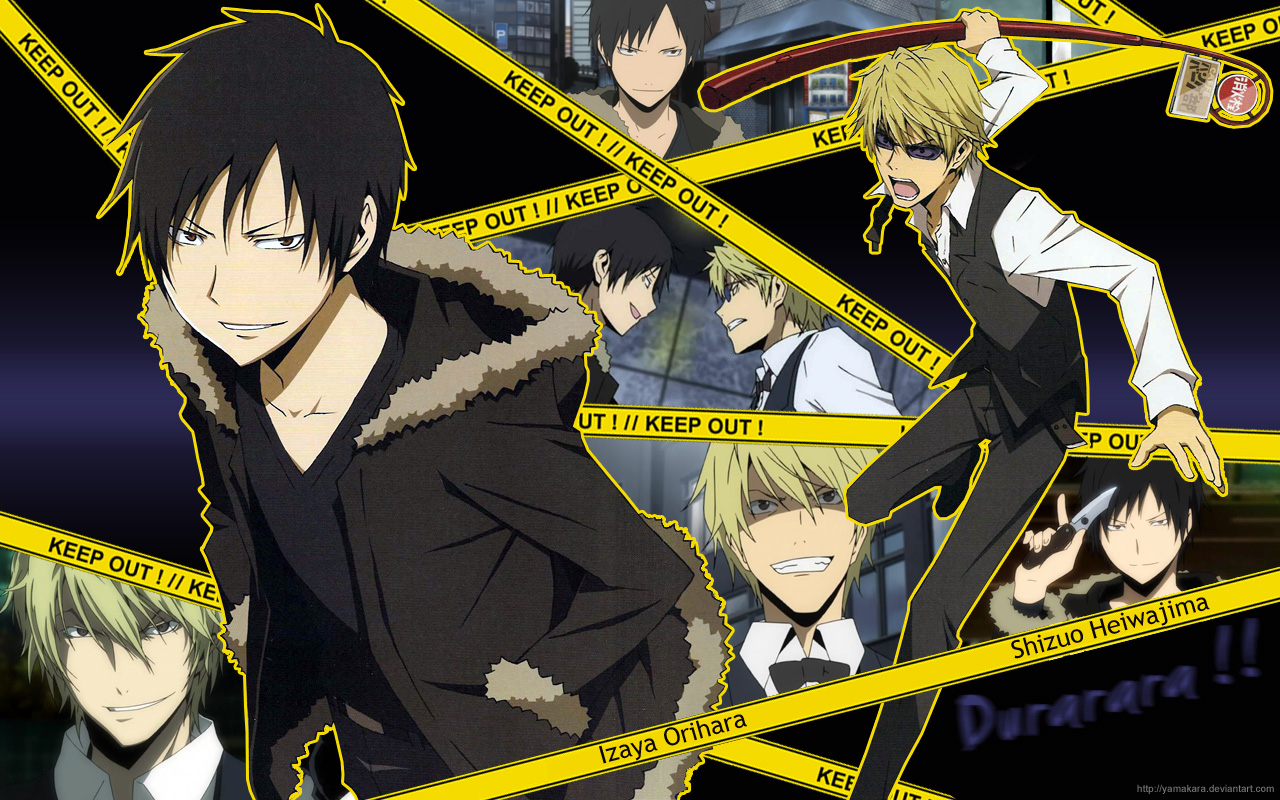 Izaya and Shizuo - 1Izaya Orihara Wallpaper (34199375 ...
