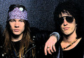 Izzy and Axl - guns-n-roses photo