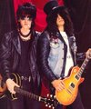 Izzy and Slash