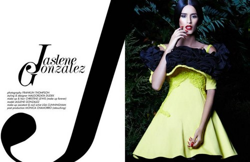 Jaslene Gonzales for Glassbook magazine