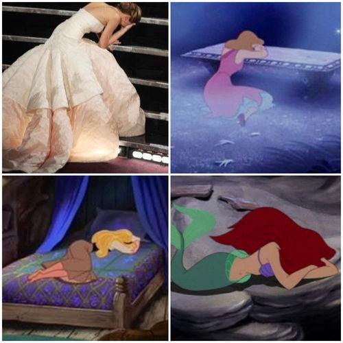 Jennifer Lawrence : The Disney Princesses