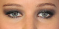 Jennifer Lawrence's eye makeup - makeup photo