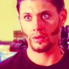 Jensen Ackles photo with a portrait called Jensen as Priestly in 'Ten Inch Hero'