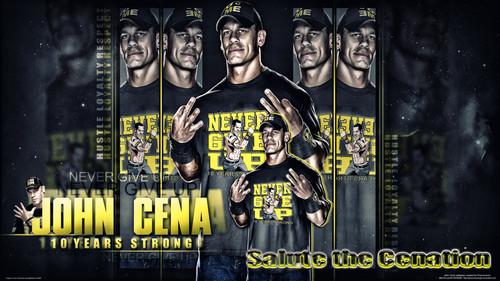 John Cena - 10 years SUPER STRONG