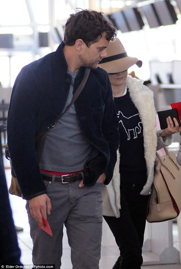 Joshua & Diane leaving NYC