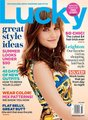 July 2012 issue of Lucky Magazine