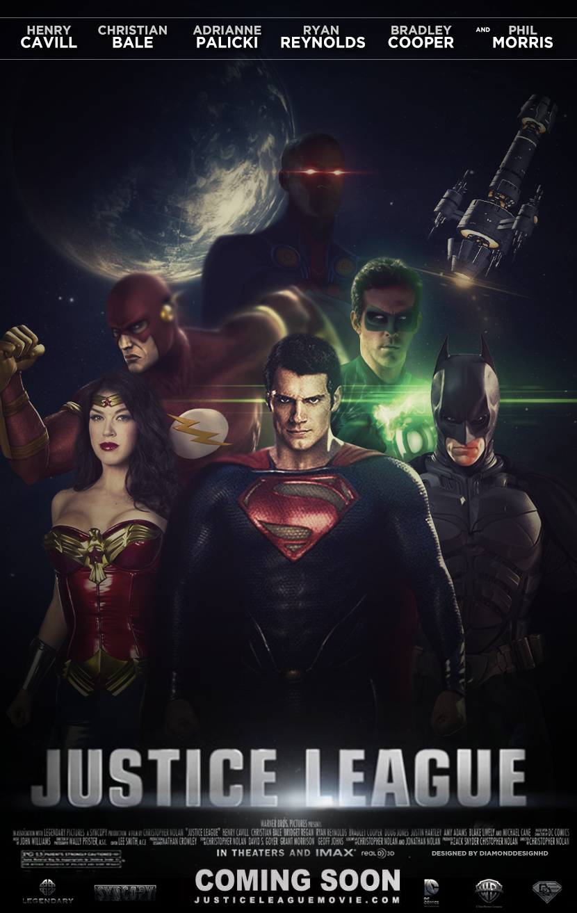 Justice League Movie Images Justice League Fan Made Movie Poster