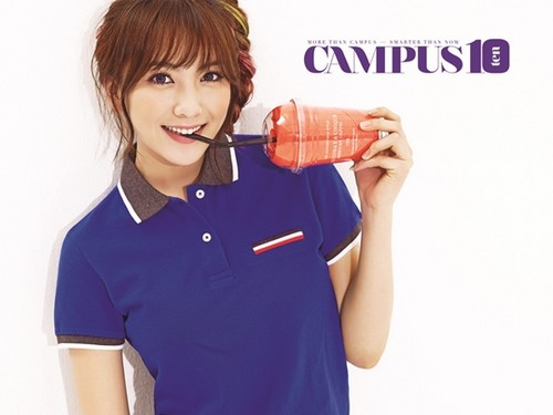 KARA's Jiyoung for Campus 10