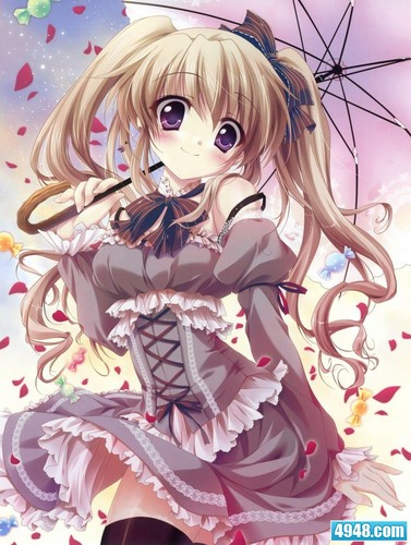 Kawaii Anime wallpaper possibly with anime entitled Kawaii Anime Girl