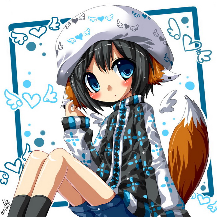 Kawaii Renard Girl Animés Kawaii Photo 34168692 Fanpop