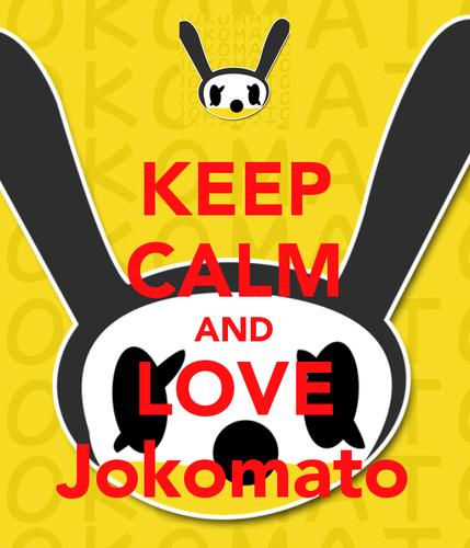 Keep Calm and प्यार Jokomato!<3